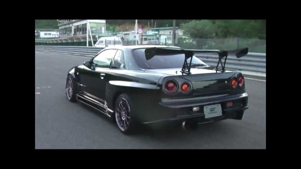 Wide Body R34 Gtr Circuit Spec Sold By Powervehicles