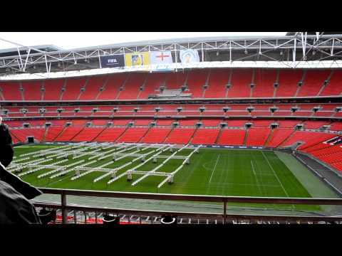 Some minutes of the Wembley Stadium Tour