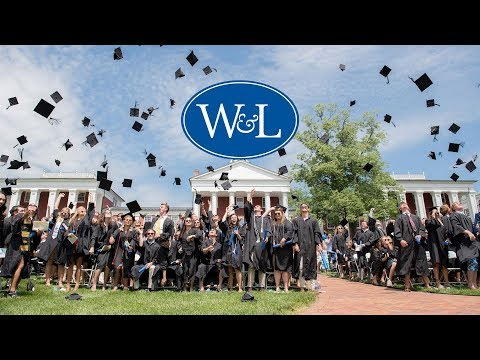 Washington and Lee University Undergraduate Commencement 2019