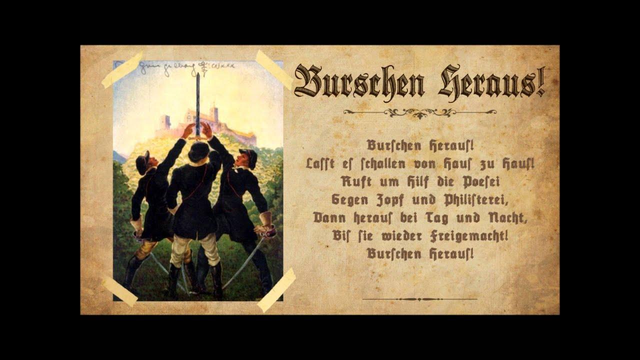 Картинки по запросу Burschen, heraus!
