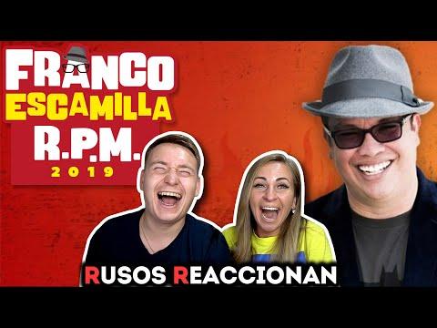 🇷🇺RUSOS REACCIONAN A FRANCO ESCAMILLA - RPM Parte 1,2 🇲🇽| Puro Humor Mexicano 2019