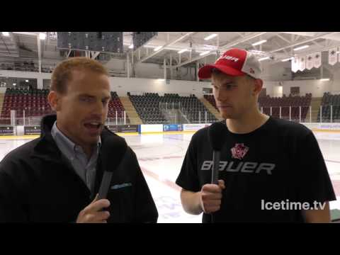 14th August 2016 - Devils v Zagreb Post Match Interview, Devils Man Of The Match Ben Bowns