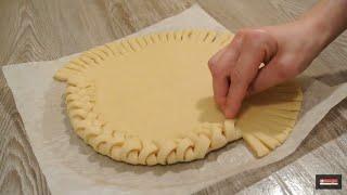 как сделать косичку на пироге
