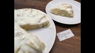 Манник с яблоком на кефире без яиц: рецепт от Foodman.club