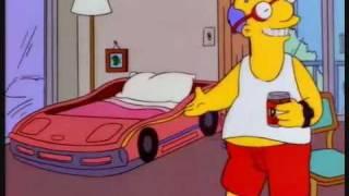 The Simpsons - I Sleep In A Racing Car!