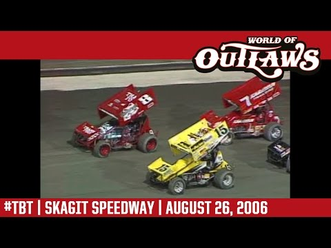 #ThrowbackThursday: World of Outlaws Craftsman Sprint Cars Skagit Speedway August 26, 2006