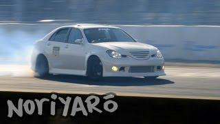 High-speed Verossa drift at Tsukuba Circuit thumbnail
