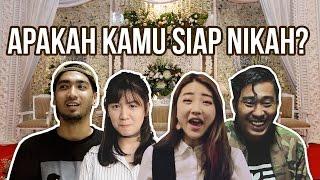 Repeat youtube video Apakah Kamu Udah Siap Nikah? ft. Han Yoora & MBDC ...