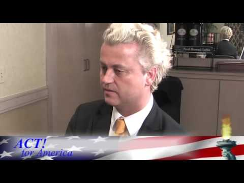 Geert Wilders   ACT for America Interview by Alan Kornman
