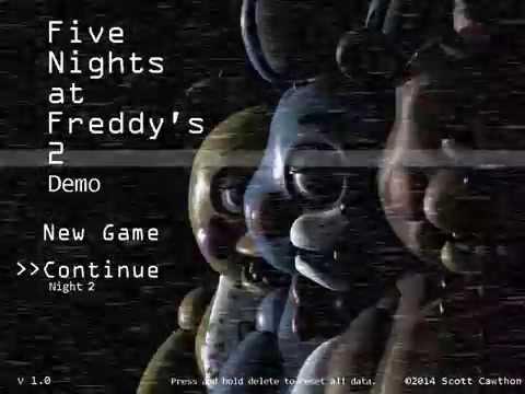Five Nights At Freddy's 2 - Main Menu Music