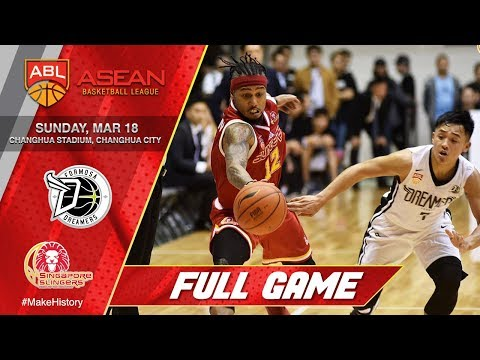 Formosa Dreamers vs Singapore Slingers | FULL GAME | 2017-2018 ASEAN Basketball League