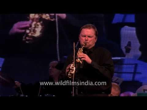 Jazz music by Oleg Lundstrem Russian Jazz Orchestra