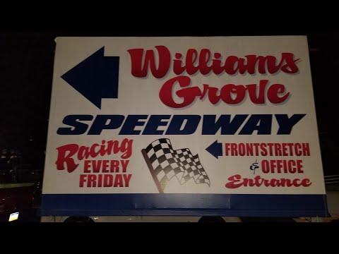 WilliamsGrove Speedway + Kasey Khane Crash