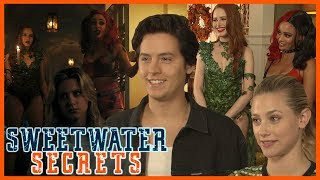 Riverdale 4x04: Cast REACTS to Their Character's Costumes and Halloween Plans! | Sweetwater Secrets