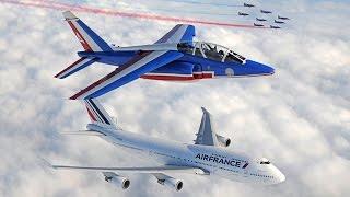 Air France 747 Forever - Le rendez-vous dans le ciel de deux fleurons de l