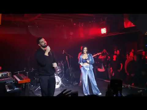"Drake Joins Jorja Smith For ""Get It Together"" in Toronto (Video)"