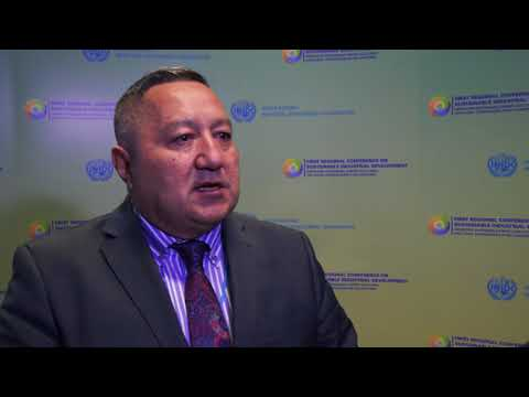 CIS Conference: Interview With Marat Usupov
