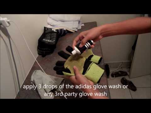 how to clean your adidas ace trans pro gloves
