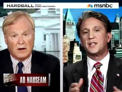 Chris Matthews eviscerates Rick Lazio over his Anit-Muslim hit ad