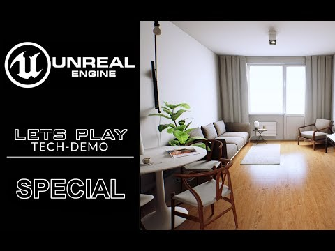 UNREAL ENGINE 4 [2160p60|R] Scandinavian & Loft in London ● Tech Demo Special
