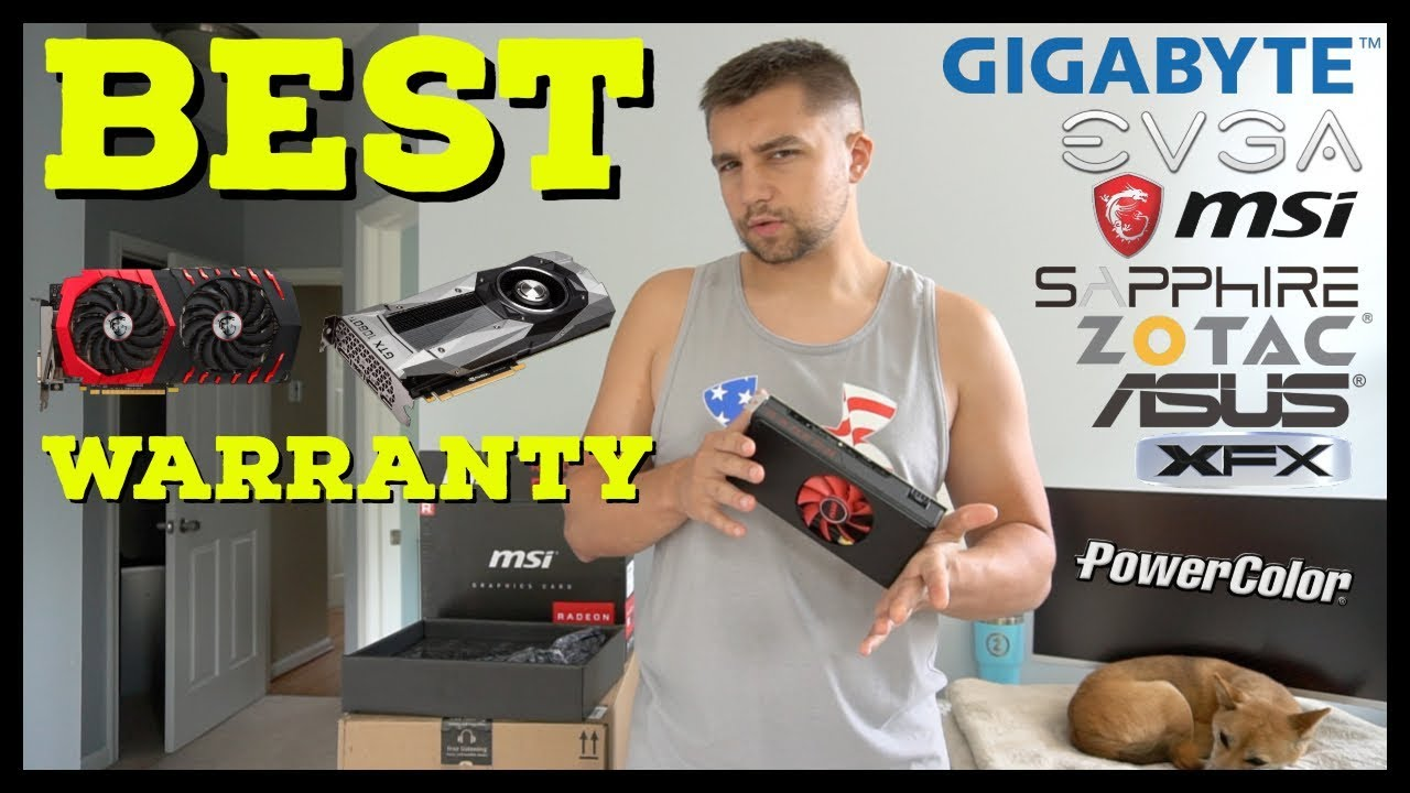 msi video card warranty transfer