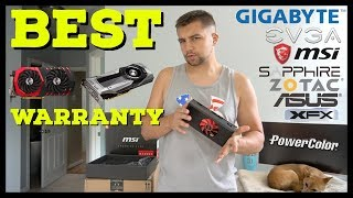 EVERYTHING Miners & Gamers Need To Know About GPU Warranties | BEST | EVGA | WORST | PowerColor