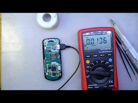 Samsung E1080W не заряжается
