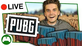 PUBG Xbox One Duos - Surviving With CRATES ONLY?!?
