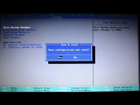 как настроить ноутбук Samsung биос + как установить Windowis 7 с DvD Диск или с Флешки