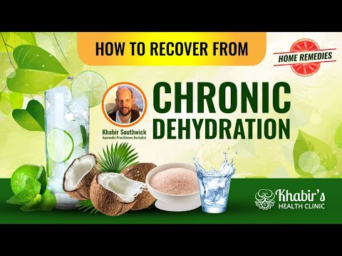 Symptoms and Signs of Chronic Dehydration and How to Naturally Recover
