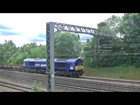 Maritime + Evening star TNT freight at retford