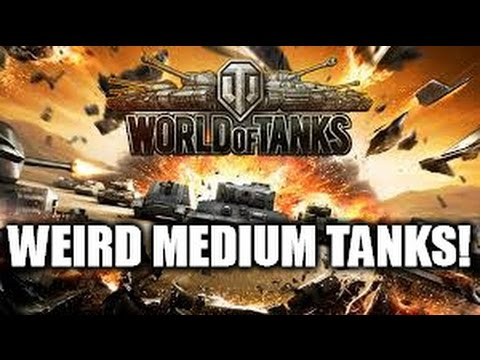 World of Tanks: Weird and Armored Medium Guest Stars + 1K Subscriber Contest Sign Up!