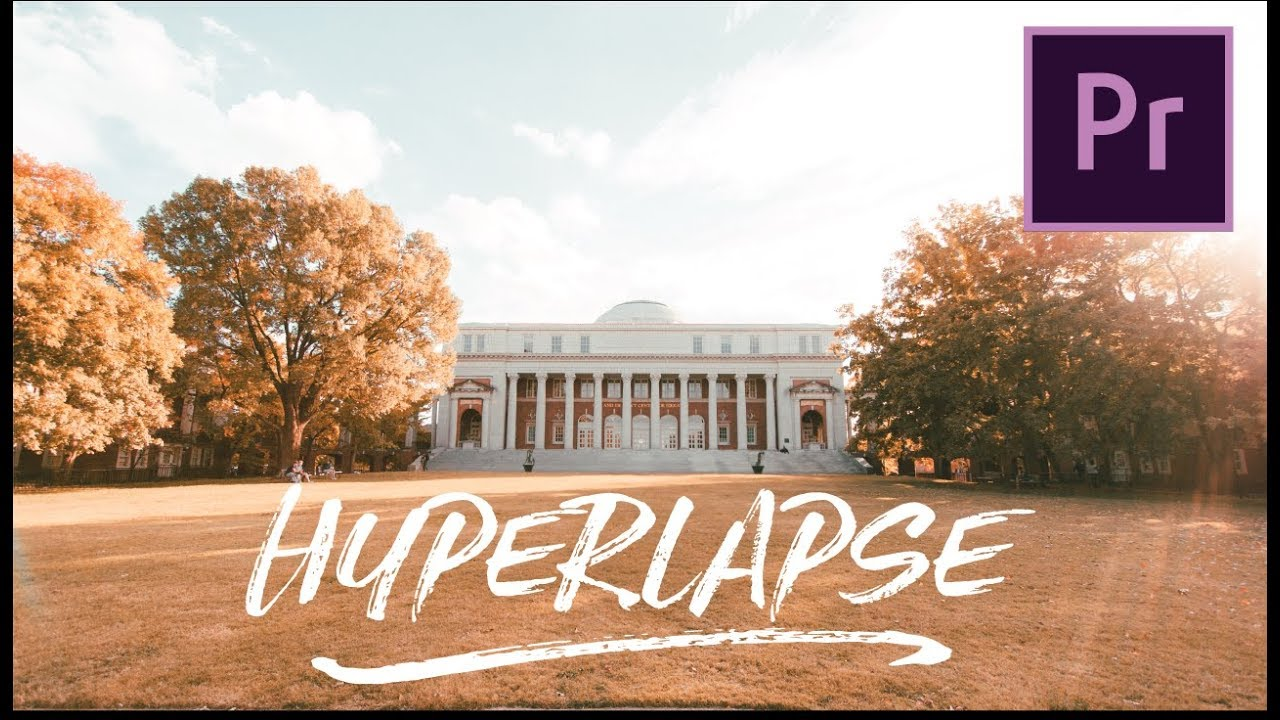 The EASIEST Way to Make a HYPERLAPSE | Adobe Premiere Pro Tutorial
