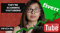 I GOT 1,000 YOUTUBE VIEWS FROM FIVERR | YOUTUBE MARKETING SCAMS