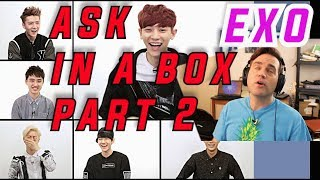 Ellis Reacts #607 //  Reaction to ASK IN A BOX: EXO-K 엑소 케이 / Part. 2 - Overdose(중독) [ENG SUB]