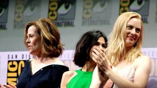 The Defenders - Sigourney Weaver gets a standing ovation - SDCC 2017 Panel Part 1