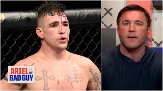 Chael Sonnen gets fired up defending Diego Sanchez | Ariel & The Bad Guy | ESPN MMA