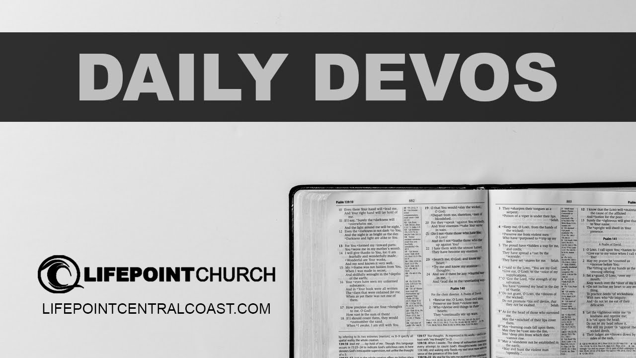 Daily Devo Fire Extinguisher