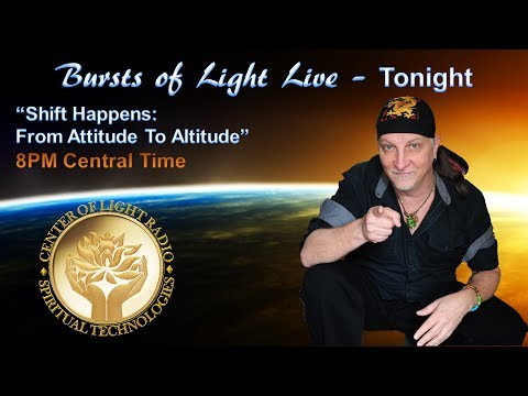 "Bursts of Light - Keith Anthony Blanchard: ""Shift Happens - From Attitude To Altitude"""