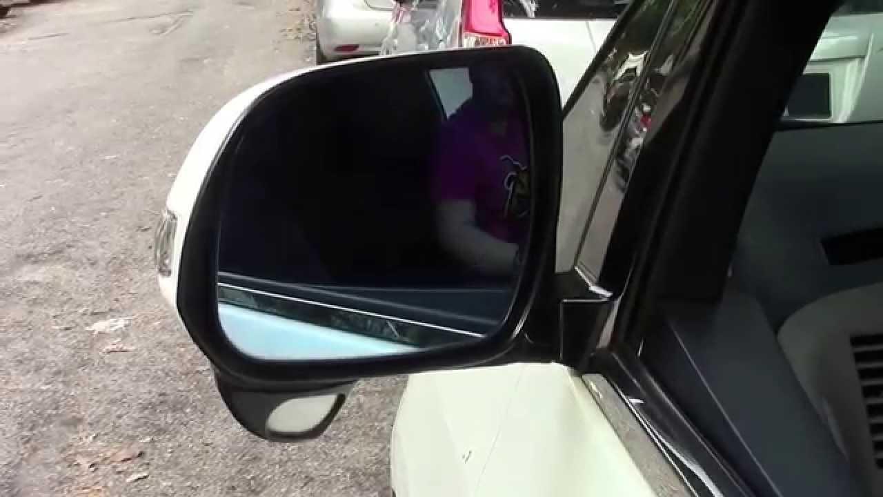 How To Unlock A Car Door >> Toyota Estima - Side Mirror Auto Fold (AM090T) - YouTube