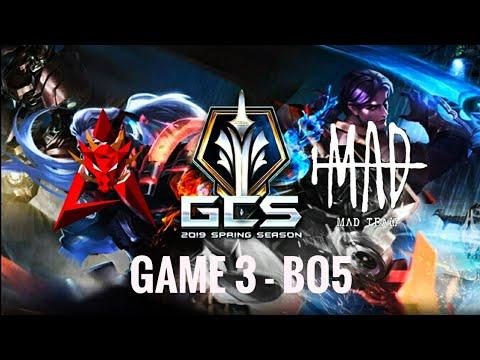 HKA VS MAD TEAM GAME 3 |GCS Mùa Xuân 2020| Lật Kèo Ngoạn Mục