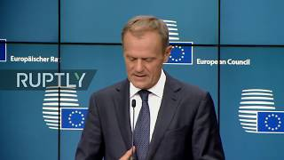 LIVE  EU Council on migration, security and economy  press conference by Tusk and Juncker