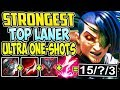 STRONGEST TOP LANER | KAYN AD RHA'AST ULTRA ONE-SHOTS | Kayn TOP Lane S8 Gameplay League of Legends