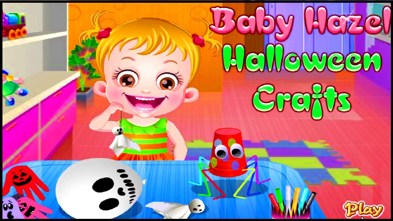 Baby Hazel Halloween Crafts Gameplay Walkthrough Game ...