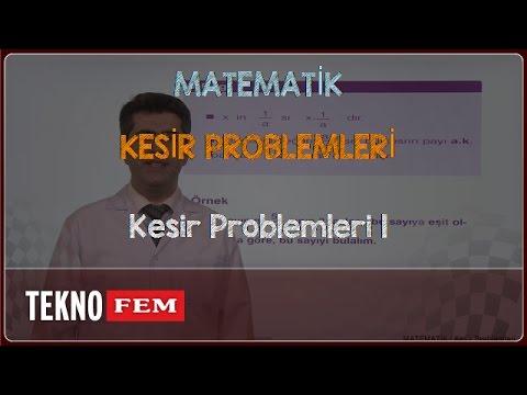 YGS-LYS MATEMATİK - Kesir Problemleri 1