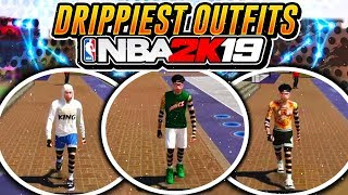 BEST OUTFITS FOR GUARDS IN PARK! | NBA 2K19 LOOK LIKE A GOD IN THE PARK!
