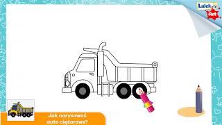 Jak narysować wywrotkę? Szkółka rysowania dla dzieci.