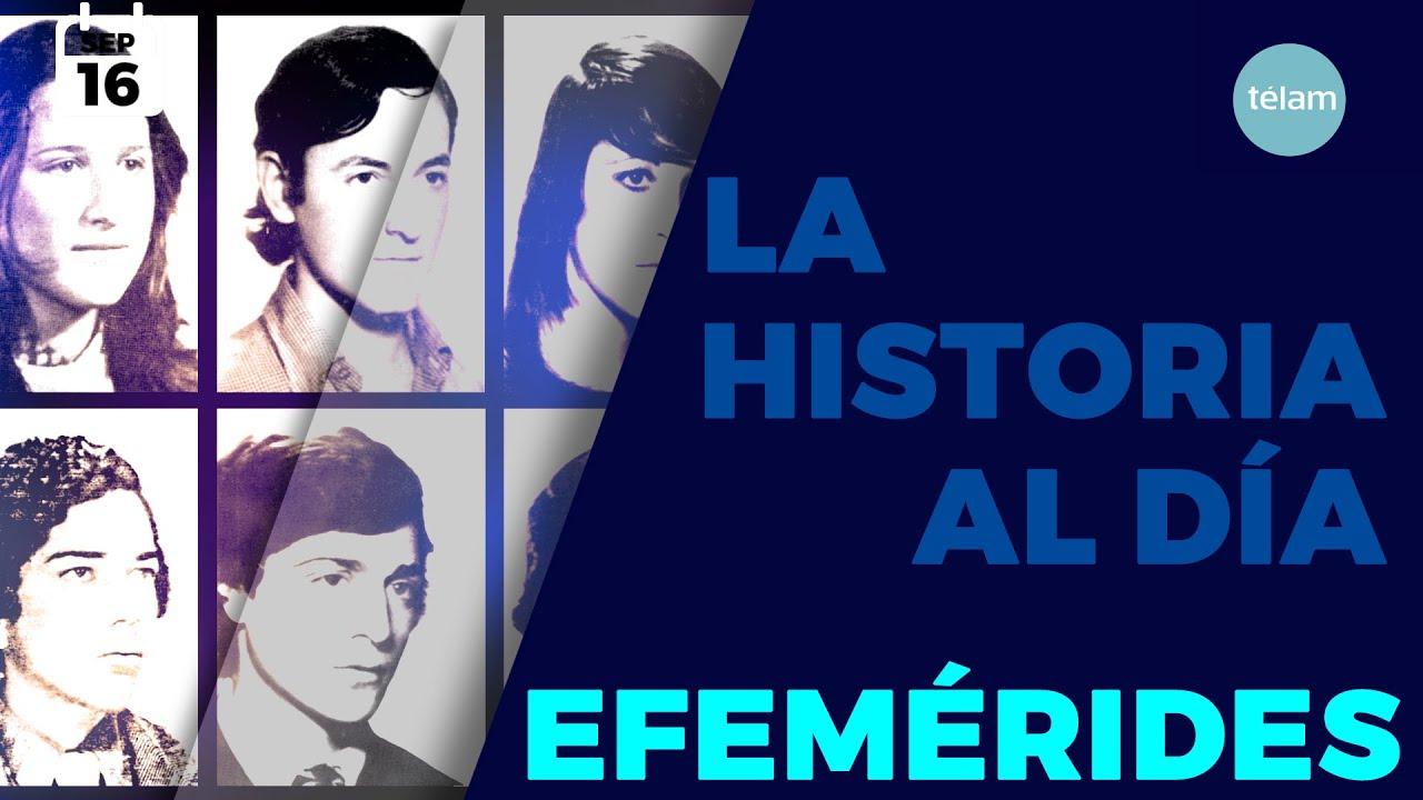 LA HISTORIA AL DÍA (EFEMÉRIDES 16 SEPTIEMBRE)