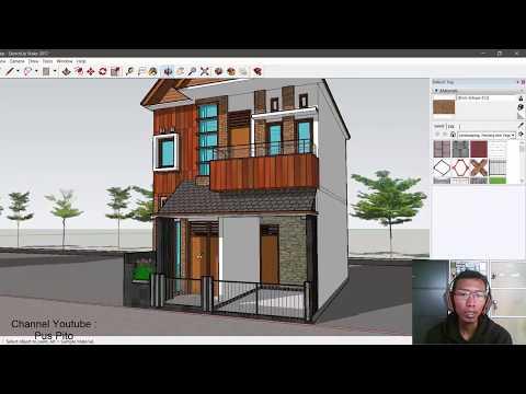 Desain Rumah Modern 6x10 2 lantai, 3 Kamar Tidur plus Garasi