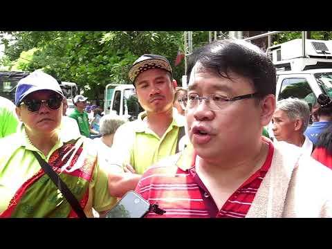 Topacio leads anti-Sereno protest